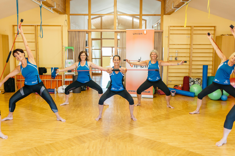 Pilates IV – mit Heidi