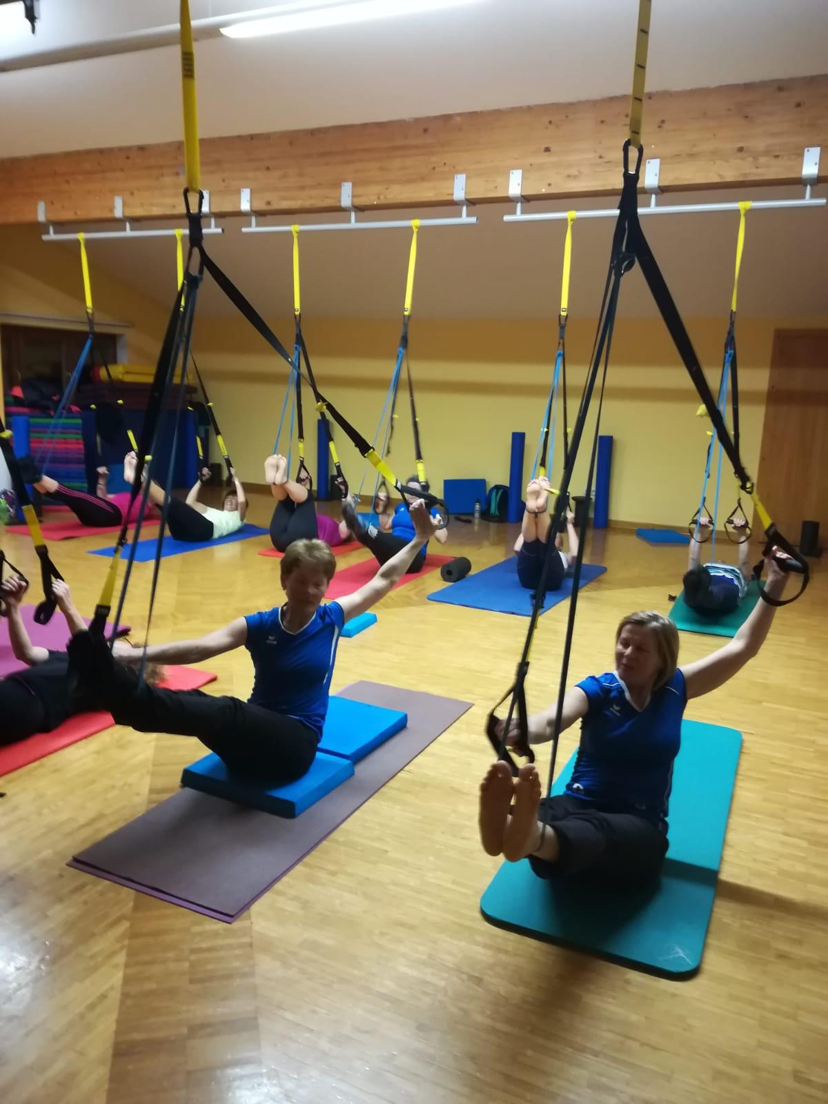 Pilates – Er & Sie mit Vorkenntnissen mit Ingrid
